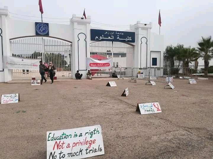 استمرار طرد الطلبة في الجامعات المغربية سلوك لا حضاري