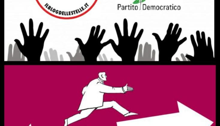 الحزب الديمقراطي اليساري وحركة نجوم الشعبوية والحكومة الايطالية : رسالتين مباشرة من صناديق الإقتراع يومي 20 و21 شتنبر 2020 !!