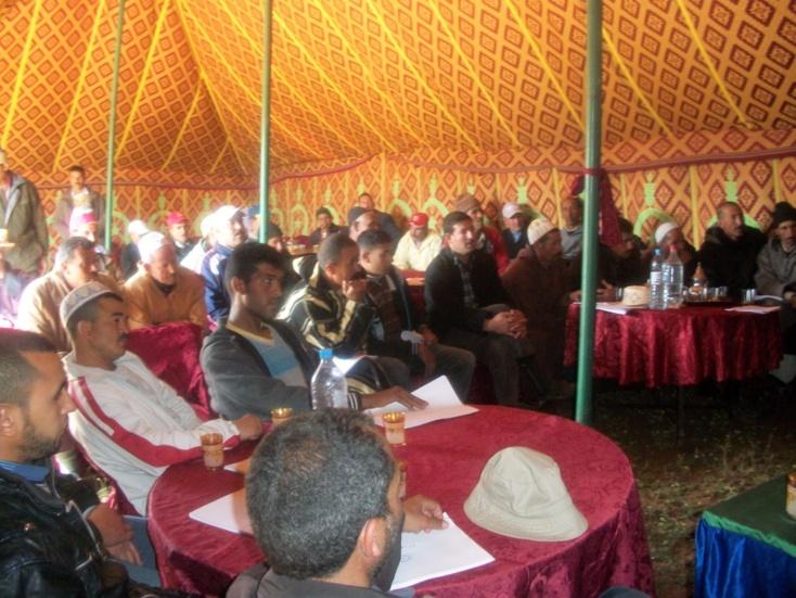 يوم دراسي لتعاونية البركة للمنتوجات الفلاحية بالبريكيين...  حول افاق ومستقبل زراعة الخضروات