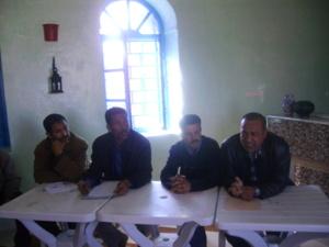 في الجمع العام الاستثنائي لجمعية السندان لفنون الحدادة بابن جرير .