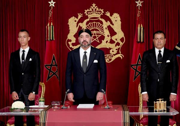 بلاغ من وزارة القصور الملكية بخصوص خطاب عيد العرش المجيد