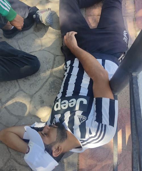 تدخل أمني عنيف من طرف قوات الأمن بابن جرير لفض الوقفة الإحتجاجية السلمية للمعطلين الحاملين للشهادات أمام مقر عمالة إقليم الرحامنة