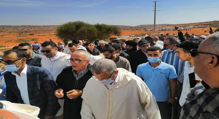 تشييع جنازة المرحوم عبد الوهاب بلفقيه