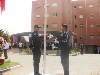 أسرة الأمن الوطني بابن جرير تخلد الذكرى 61 للتأسيس.