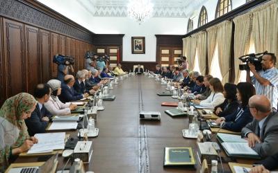 اجتماع مجلس الحكومة ليوم الخميس 29 يونيو 2017