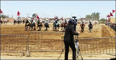 عامل اقليم قلعة السراغنة محمد صبري يترأس بالجماعة الترابية اولاد اصبيح  النسخة الثامنة من المهرجان الصبحي
