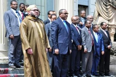 """الملتقى المغربي الإفريقي بان جرير في دورته الأولى تحت شعار""""الأمن والتنمية في إفريقيا بعد عودة المغرب إلى الاتحاد الإفريقي""""."""