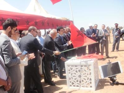 بمناسبة  الذكرى 18 لعيد العرش عامل إقليم الرحامنة السيد عزيز بوينيان يتفقد ويعطى الانطلاقة لعدد من المشاريع التنموية بالإقليم .