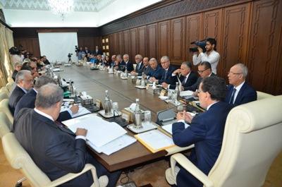 اجتماع مجلس الحكومة ليوم الخميس 21 شتنبر 2017