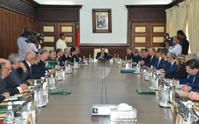اجتماع مجلس الحكومة ليوم الإثنين 02 أكتوبر 2017
