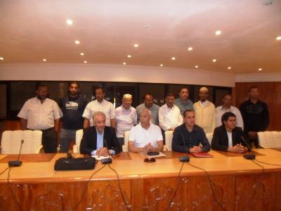 انتخاب الادريسي الزاكي مولاي ادريس رئيسا لعصبة الاطلس الكبير للملاكمة بمدينة مراكش.