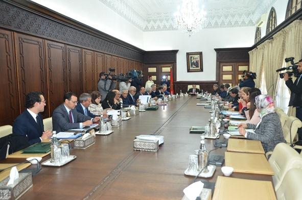 اجتماع المجلس الحكومي ليوم الخميس 14 دجنبر2017