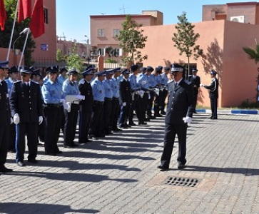 ترقية مستحقة للمراقب العام رئيس الأمن الإقليمي لابن جرير السيد عمر الخمري.