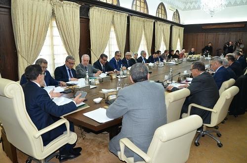 اجتماع المجلس الحكومي ليوم الخميس  28 دجنبر2017