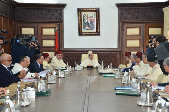 أشغال اجتماع مجلس الحكومة ليوم 4 يناير 2018