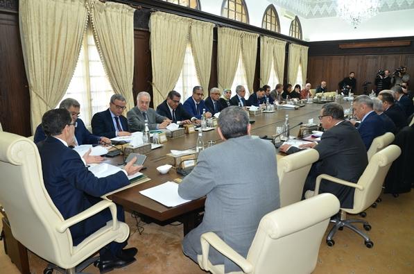 اشغال  المجلس الحكومي ليوم الخميس 25 يناير 2018