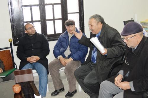 مراكش : الدورة التكوينية  الأولى المنظمة من طرف جريدتي الانتفاضة وحقائق جهوية  بتنسيق مع الفيدرالية المغربية لناشري الصحف الجهوية .