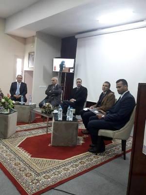 خالد الصمدي  يترأس فعاليات افتتاح  النسخة 25  لملتقى المقاولات