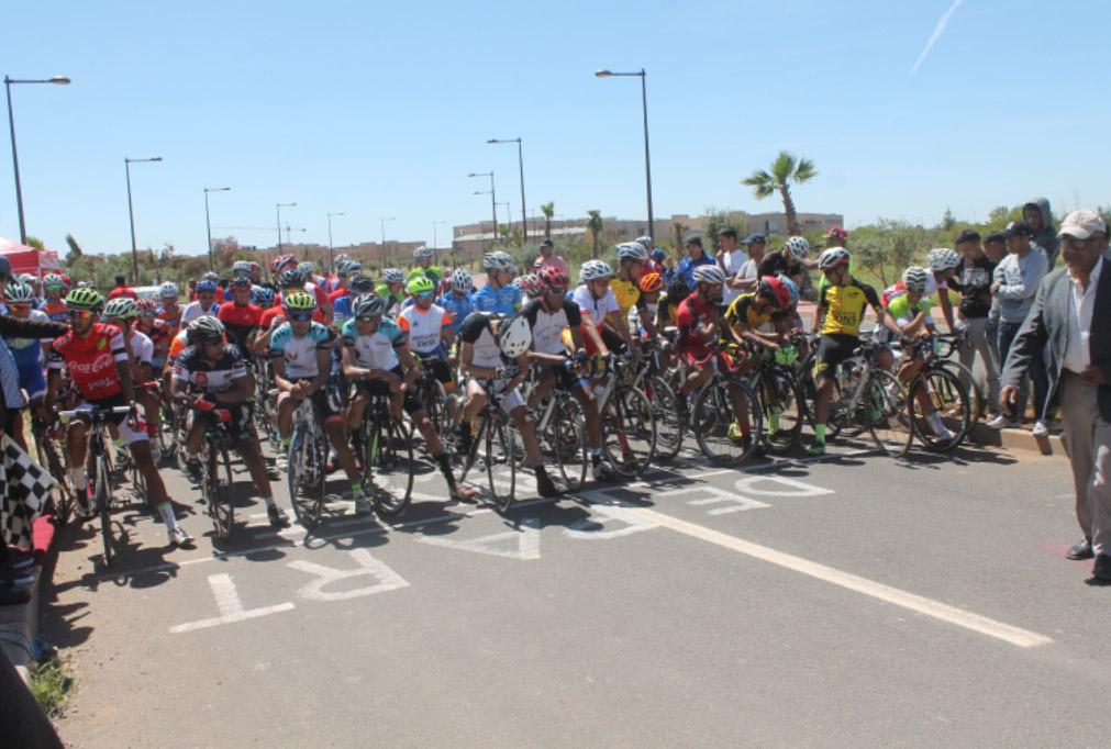 إقليم الرحامنة ينجح في تنظيم المرحلة الأولى من طواف الرحامنة لسباق الدراجات