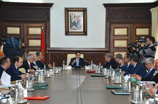 تقرير عن أشغال الاجتماع الأسبوعي لمجلس الحكومة ليوم الخميس 26 ابريل 2018
