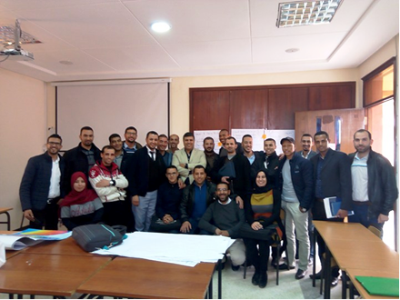 دورة تكوينية في تقنيات التواصل  لفائدة الطلبة الباحثين   بسلك الدكتوراه برحاب كلية الآداب والعلوم الإنسانية لمراكش