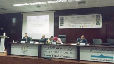 يومان دراسيين برحاب كلية الآداب شعيب الدكالي بالجديدة يسلطان الضوء على وضعية الموارد الترابية في المغرب.