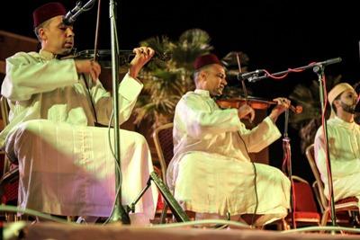 جمعية التربية و التنمية و جمعية اوتار للموسيقى و الفنون بمدينة ابن جرير تنظمان ليلة للمديح والسماع .