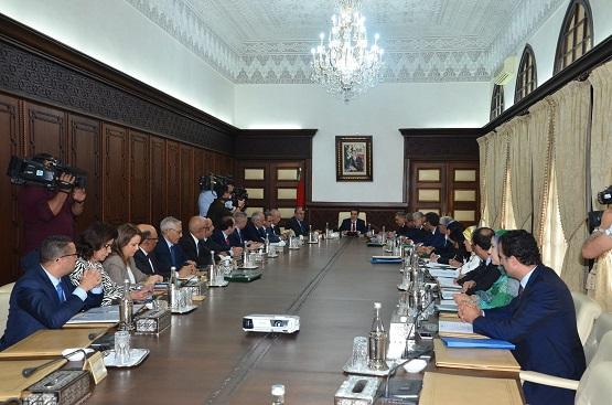 تقرير عن أشغال اجتماع المجلس الحكومي ليوم الخميس 28يونيو 2018