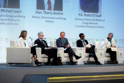 في قمة عالمية بدبي ..الوفي  تكشف  المشاريع الاستراتيجية للمغرب في مجال الانتقال نحو الاقتصاد الأخضر