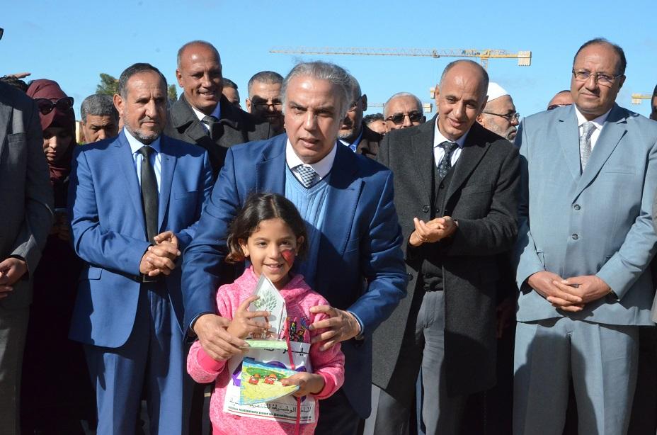 مشاريع تنموية بإقليم خريبكة فاقت 74.57 مليون درهم بمناسبة الاحتفال بعيد المسيرة