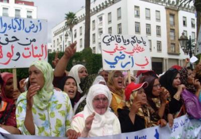 بلاغ ...للرابطة المغربية للمواطنة وحقوق الإنسان حول استمرار الفساد والتخبط بالاراضي السلالية عامر (سلا)