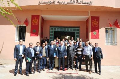والي جهة مراكش آسفي السيد كريم قسي لحلو يواصل لقاءاته التواصلية مع الجماعات الترابية التابعة لعمالة مراكش