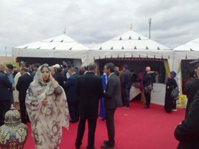 عامل اقليم الرحامنة يترأس حفل الافتتاح الرسمي لفعاليات موسم روابط الرحامنة في نسخته الثانية