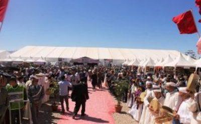 الملتقى الدولي للورد العطري في دورته 57 بقلعة مكونة بإقليم تنغير
