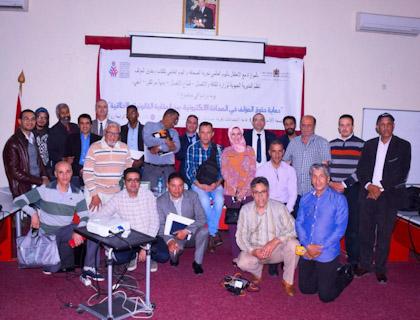 يوم دراسي حول حقوق المؤلف في الصحافة الالكترونية لفائدة الصحافيين المهنيين بجهة مراكش اسفي