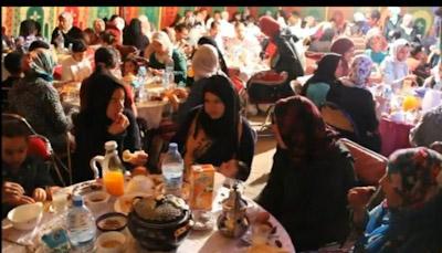 .جمعية الرحامنة للصم و البكم تنظم افطارا جماعيا