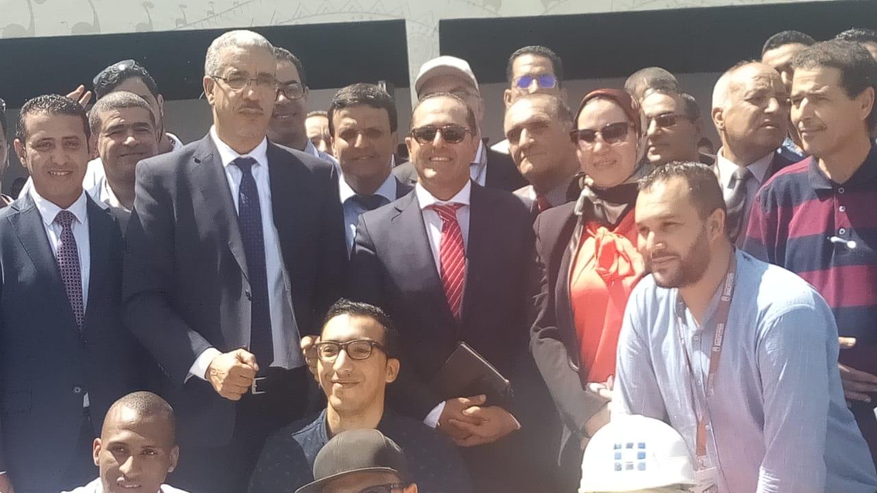 وزير الطاقة والمعادن يشرف على حفل افتتاح انطلاقة القرية الشمسية بابن جرير