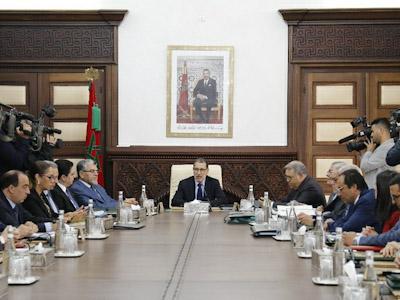 تقرير عن أشغال اجتماع مجلس الحكومة 7 نونبر 2019