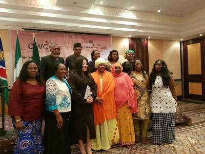 مؤتمر المرأة الإفريقية  مراكش 21-23 نوفمبر, 2019