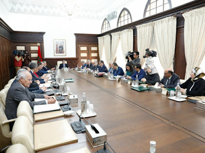 تقرير عن أشغال اجتماع مجلس الحكومة 12 مارس 2020