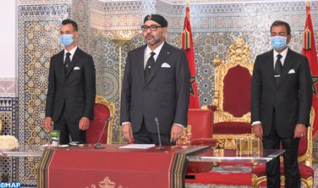جلالة الملك يوجه خطابا إلى الأمة بمناسبة عيد العرش المجيد
