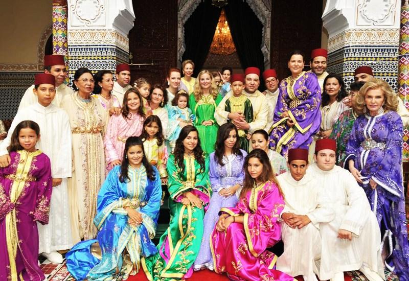 الأسرة الملكية تحتفل بذكرى ميلاد الأميرة للامريم