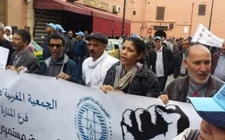 النقابة الوطنية للصحافة المغربية بجهة مراكش تدين استهداف رئيسة فرع الجمعية المغربية لحقوق الإنسان بمراكش