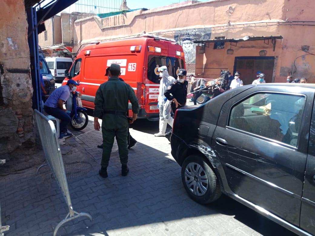 37 وفاة و 1555 إصابة جديدة بكورونا في المغرب خلال الـ24 ساعة الماضية...سجل منها بمراكش 197 حالة و20 باليوسفية و10 حالات بالرحامنة، وحالتان بشيشاوة ومثلهما في قلعة السراغنة، ثم حالة واحدة بكل من آسفي والحوز والصويرة،
