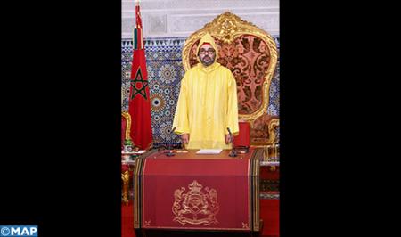 جلالة الملك يوجه خطابا ساميا بمناسبة افتتاح الدورة الأولى من السنة التشريعية الخامسة من الولاية التشريعية العاشرة