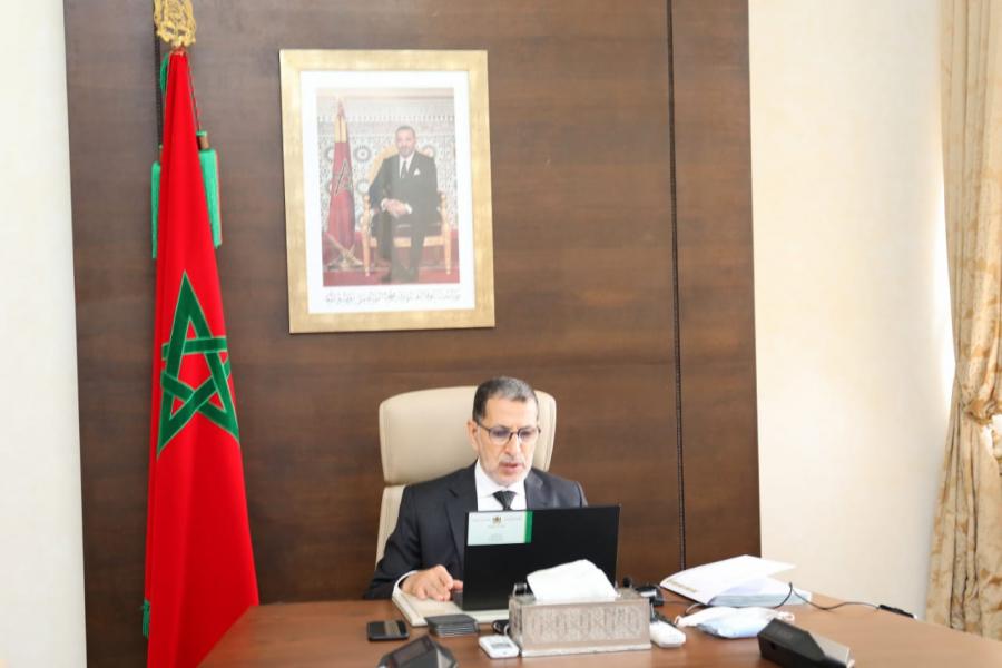 تقرير عن أشغال اجتماع مجلس الحكومة - 22 أكتوبر 2020