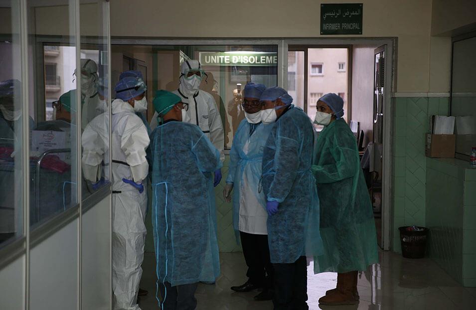 تسجيل 2587 إصابة جديدة بكورونا و 80 حالة وفاة و4701 حالة شفاء خلال 24 ساعة الأخيرة ببلادنا...سجل منها بالرحامنة 4 إصابات