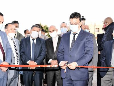 عامل إقليم الرحامنة يشرف على افتتاح وكالة الضمان الاجتماعي بابن جرير