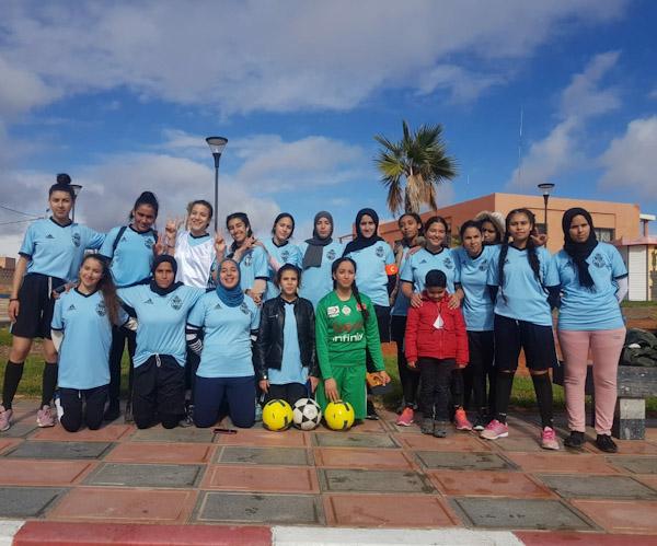 اتحاد الرحامنة لكرة القدم النسوية يمطر شباك أشبال الحي المحمدي بمراكش