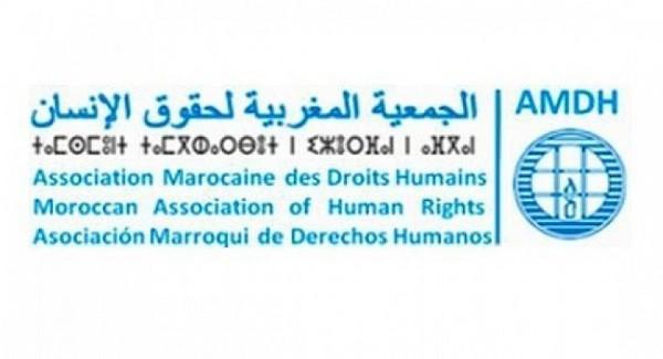 الجمعية المغربية لحقوق الانسان .. بيان حول منع وقمع الوقفات الاحتجاجية